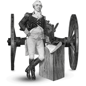 General Henry Knox - Standing By Cannon